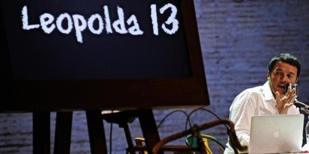 Leopolda13, Matteo Renzi e le polemiche: manca il simbolo del Pd e le bandiere