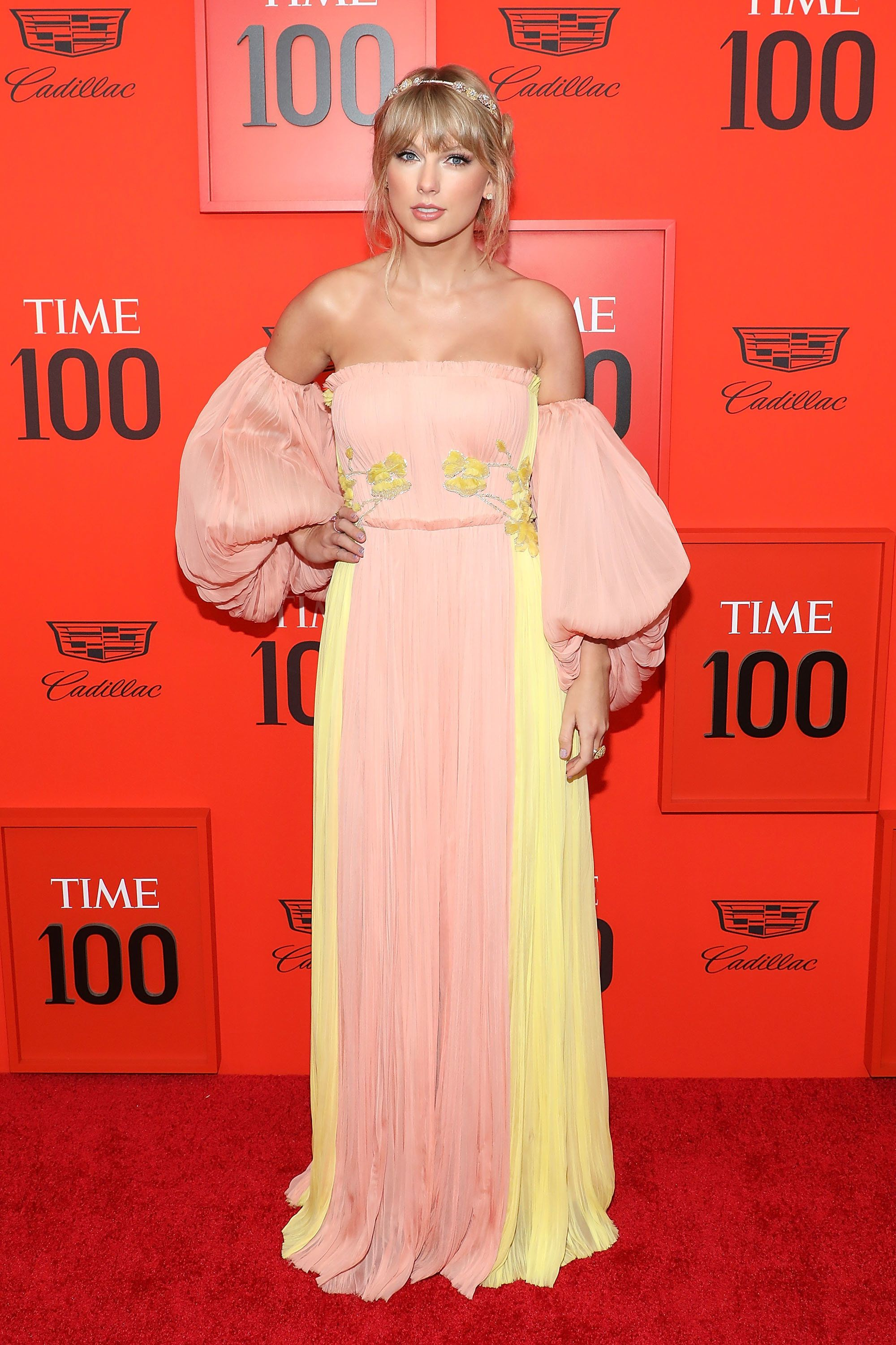 NEW YORK, NY - APRIL 23:  Taylor Swift attends the 2019 Time 100 Gala at Frederick P. Rose Hall, Jazz at Lincoln Center on April 23, 2019 in New York City.  (Photo by Taylor Hill/FilmMagic)