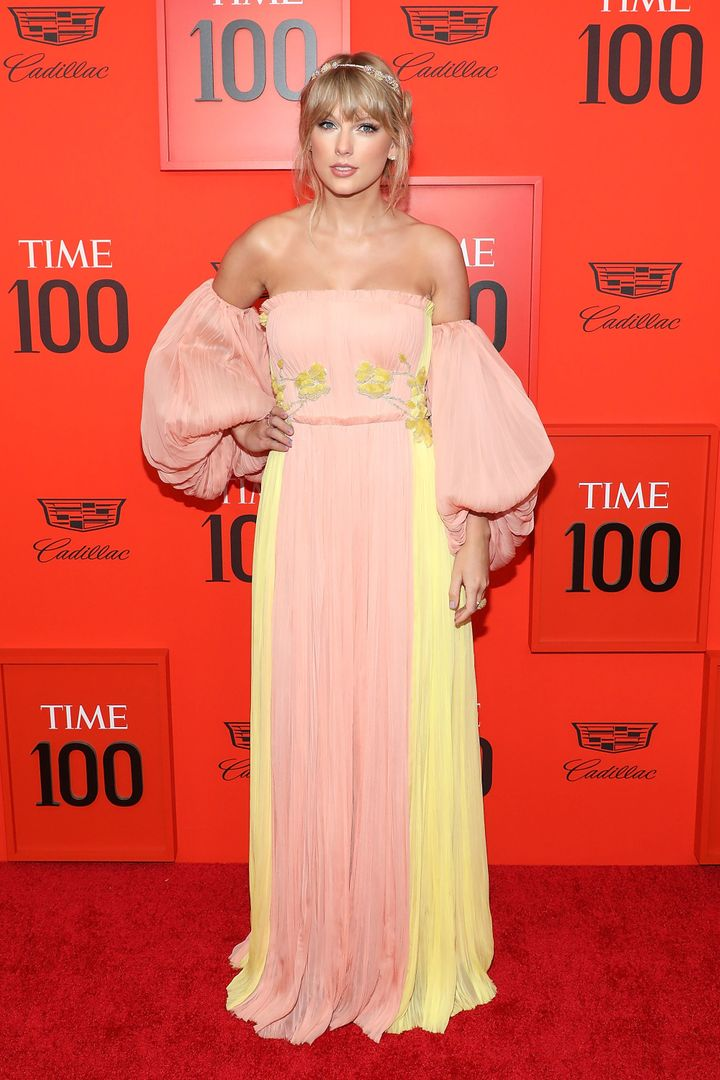 Taylor Swift attends the 2019 Time 100 Gala in New York City on Tuesday.