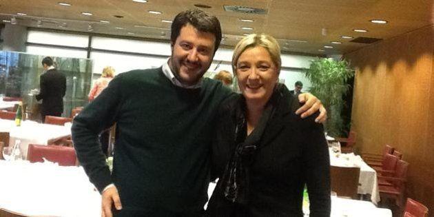 Marine Le Pen e Lega Nord, per gli euroscettici una piattaforma comune: azzeramento dell'euro e controllo...