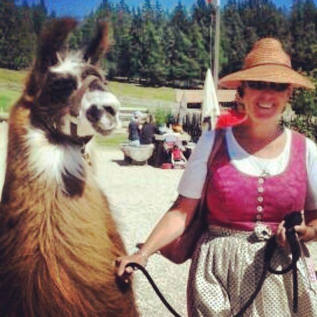 Se il lama ti sorride (anche) sulle