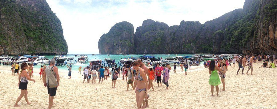 Thailandia: Maya Bay, la spiaggia di