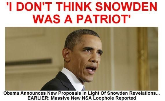 Datagate, Barack Obama: