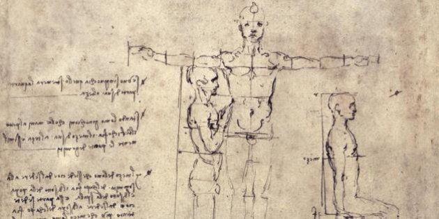 Leonardo da Vinci, in mostra a Venezia 52 disegni relativi all'Uomo Vitruviano