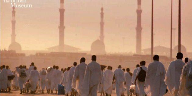 10 gifs per comprendere il pellegrinaggio alla Mecca dove due milioni di musulmani si