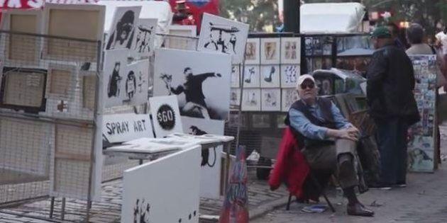 Banksy a New York: vende le sue opere a soli 60 dollari (FOTO,