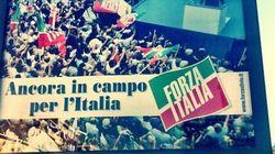 Forza Italia, il ritorno: a Milano compaiono i primi manifesti