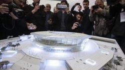 Il nuovo stadio della Roma. Le foto del