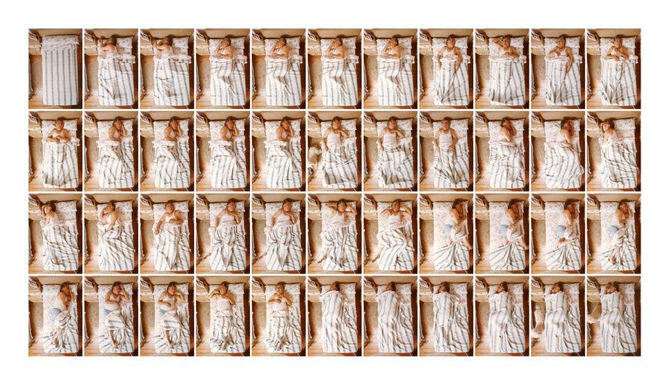 Ted Spagna, il fotografo del sonno e di tutte le sue 'mosse'. Dal 1975 ci ritrae mentre dormiamo