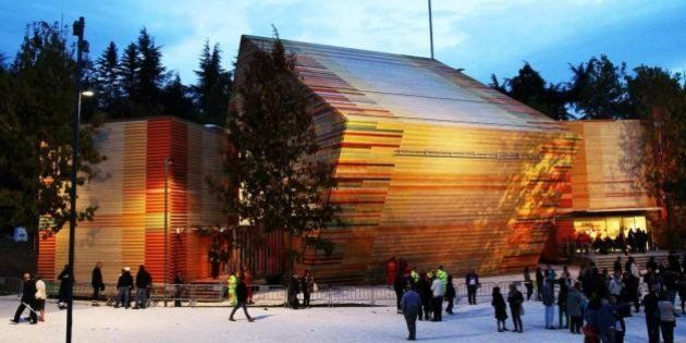 L'auditorium di Renzo Piano a L'Aquila diventa una sala per matrimoni civili