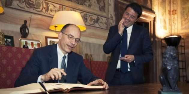 Enrico Letta, infastidito, sfida Matteo Renzi sul contratto di governo: