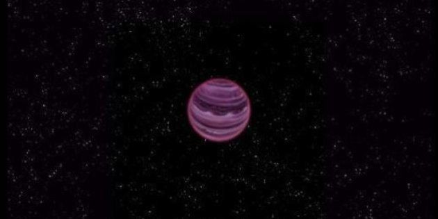Scoperto un pianeta solitario: non ruota attorno a nessuna stella. Vaga da solo nello spazio