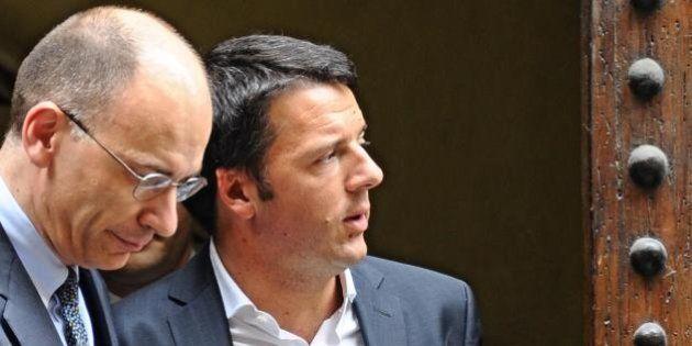 Matteo Renzi Enrico Letta: duello alle feste del Pd