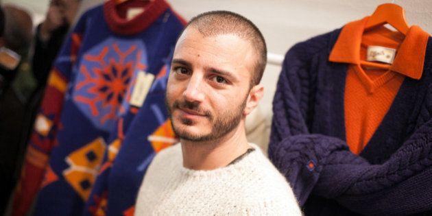 Pitti immagine Uomo 2014: Nicolas Vaporidis e Pif modelli per S. Moritz
