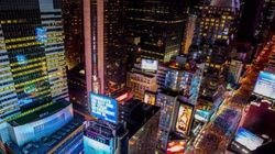 Capodanno a New York in un timelapse