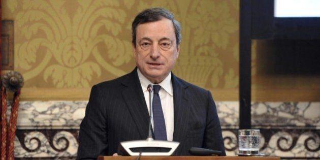 Mario Draghi mette in guardia da ottimismi su Eurozona, ma vede rischi limitati di
