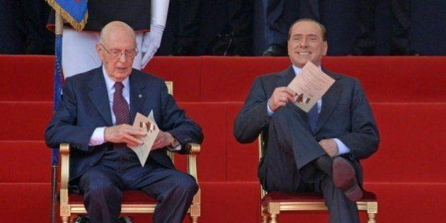 Giorgio Napolitano il messaggio sull'agibilità politica di Silvio Berlusconi: