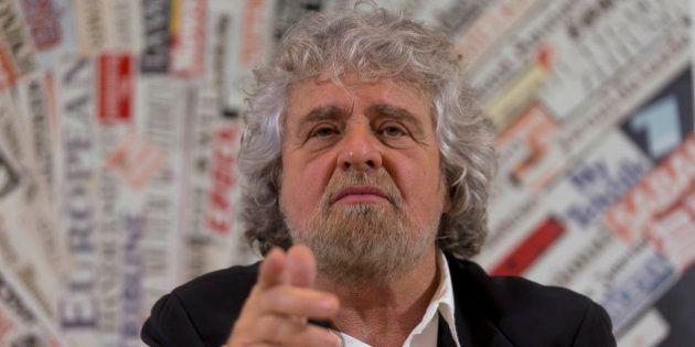 La giornata di Beppe Grillo a Roma per lanciare la campagna elettorale:
