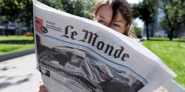 Le Monde sigla accordo con Le Nouvel Observateur e Rue89. Il risiko dei giornali