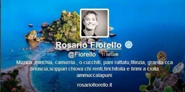 Fiorello twitta: