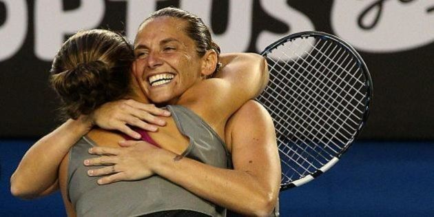 Sara Errani e Roberta Vinci vincono gli Australian Open nel doppio femminile