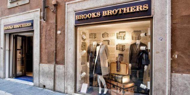 Brooks Brothers a Roma: primo negozio nella Capitale per il marchio americano delle camicie botton down