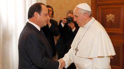 François Hollande da Papa Francesco