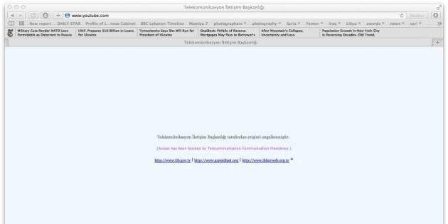 Turchia, dopo Twitter oscurato anche Youtube per evitare la pubblicazione di segreti militari sulla Siria
