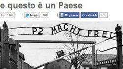 Grillo rilegge Auschwitz e Primo Levi per attaccare Renzi e