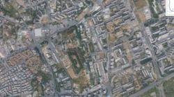 Le aree verdi di Roma inghiottite dal cemento