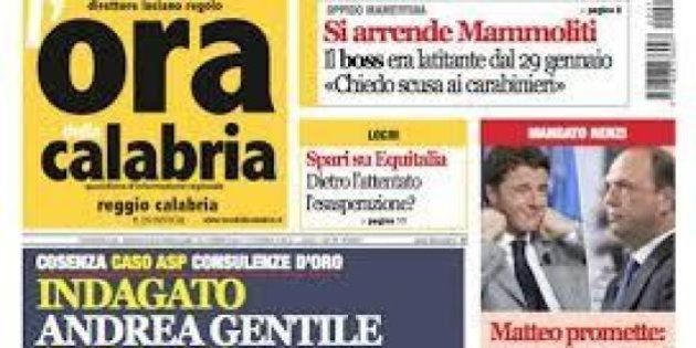 Editoria, l'Ora della Calabria a rischio chiusura. Potrebbe finire in mano allo stampatore che censurò...