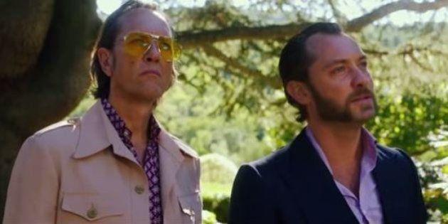 Superfallico Jude Law sfida il cattivo western Demián