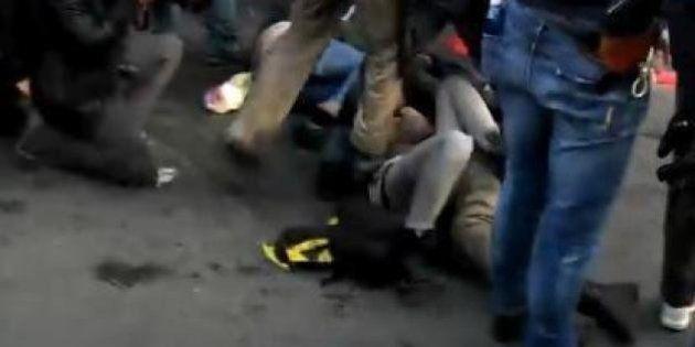 Deborah Angrisani, la ragazza calpestata dal poliziotto: