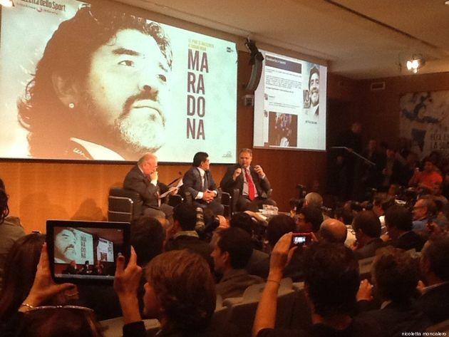 Diego Maradona: el Pibe de Oro è tornato in Italia