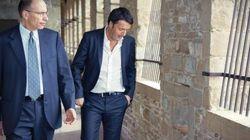 Letta incontra Renzi a Palazzo