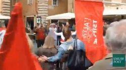 Festa in piazza ballando il Sirtaki