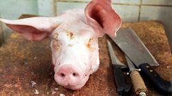 Tre teste di maiale per minacciare la comunità ebraica