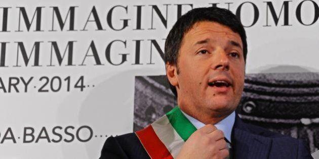 Matteo Renzi si ricandida a sindaco di Firenze, il suo biglietto da visita nella strada per palazzo Chigi