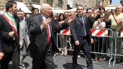 Giorgio Napolitano sotto tiro da Palermo a Firenze, dove andrà