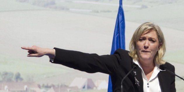 Marine Le Pen contro Beppe Grillo: