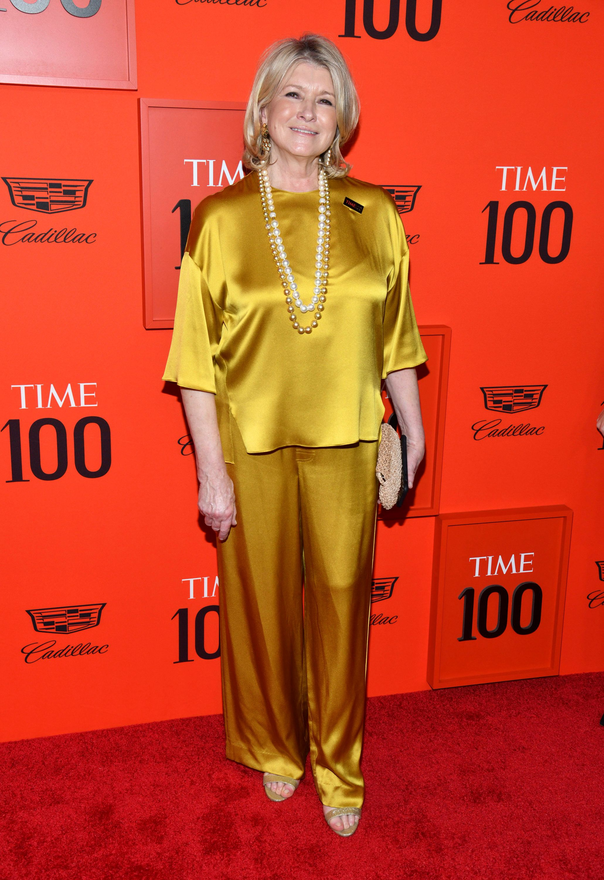 Martha Stewart attends the Time 100 Gala, celebrating the 100 most influential people in the world, at Frederick P. Rose Hall, Jazz at Lincoln Center on Tuesday, April 23, 2019, in New York. (Photo by Charles Sykes/Invision/AP)