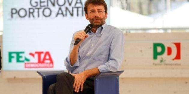 Matteo Renzi incassa l'appoggio di Dario Franceschini.