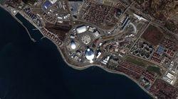 L'evoluzione di Sochi in un'immagine