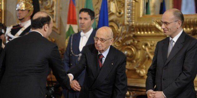 Giorgio Napolitano riceve Angelino