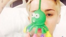 Miley finisce in ospedale
