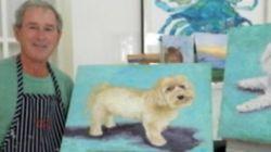 Da Berlusconi alla Merkel, 19 dipinti di leader