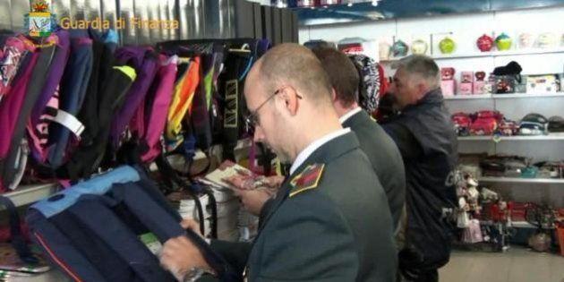 Nel 2013 la Guardia di Finanza ha ritirato 130 milioni di prodotti contraffatti, denunciate 9.445