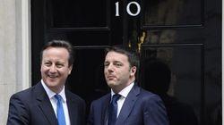 Renzi a Londra incontra Cameron. In serata vede Tony