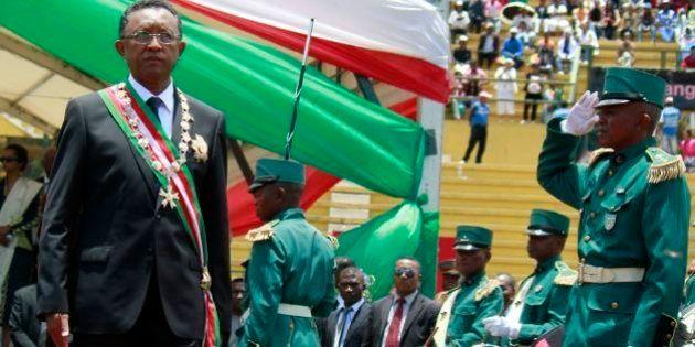 Presidente del Madagascar, Hery Rajaonarimampianina, copia il discorso inaugurale da Nicolas Sarkozy
