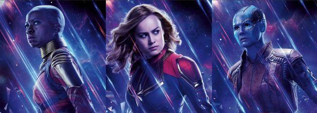 Okoye, Captain Marvel et Nebula parmi les super-héroïnes de